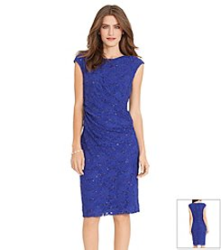 Lauren Ralph Lauren® Sequined Lace Dress