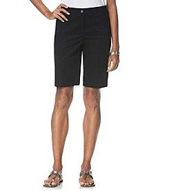 Rafaella® Poplin Shorts