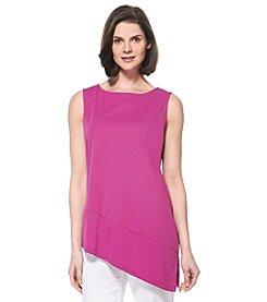 Rafaella® Asymmetrical Jersey Tunic