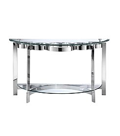 Stein World Mercury Demilune Console Table