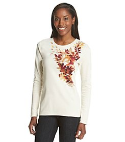 Studio Works® Falling Leaves Long Sleeve Tee