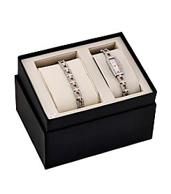 Bulova® Women's Swarovski Crystal Box Set