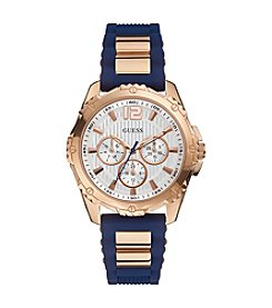GUESS Women's Rose Goldtone Active Sport Midsize Watch