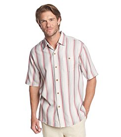 Tommy Bahama® Men's Short Sleeve Al Dente Stripe Button Down