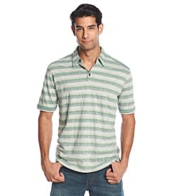 Tommy Bahama® Men's Short Sleeve Fray Day Shadow Stripe Polo