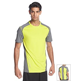 Calvin Klein Performance Men's Short Sleeve Colorblock Reflective Tee