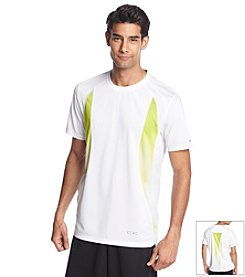 Calvin Klein Performance Men's Short Sleeve Core Engineered Printed Tee