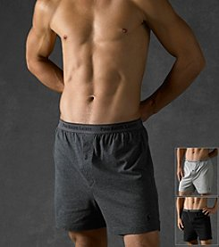 Polo Ralph Lauren® Men's 3-Pack Classic Knit Boxer