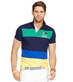 Polo Ralph Lauren® Men's Short Sleeve Colorblock Mesh Polo