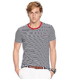 Polo Ralph Lauren Men's Short Sleeve Striped Crewneck Model Tee