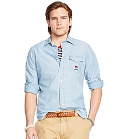 Polo Ralph Lauren® Men's Long Sleeve Chambray Button Down Shirt