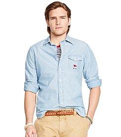 Polo Ralph Lauren® Men's Long Sleeve Chambray Button Down Shirt
