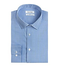 Calvin Klein Men's Slim Fit Check Dress Shirt
