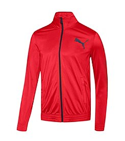 PUMA® Men's Contrast Full Zip Jacket