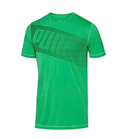 PUMA® Men's Short Sleeve Tilted Graphic Tee