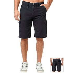 Buffalo by David Bitton Men's Vintage Higgins Cargo Short