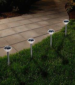 Pure Garden LED Solar Pathway Lights