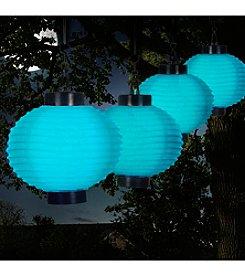 Pure Garden Outdoor LED Solar Lanterns
