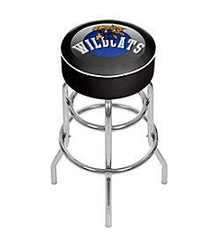 NCAA® University of Kentucky Chrome Bar Stool with Swivel - Honeycomb