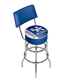 NCAA® University of Kentucky Swivel Bar Stool with Back