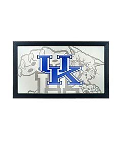 NCAA® University of Kentucky Wildcats Framed Logo Mirror