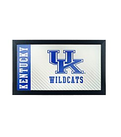 NCAA® University of Kentucky Text Framed Logo Mirror