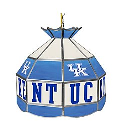 University of Kentucky Tiffany Lamp - Blue Lettering