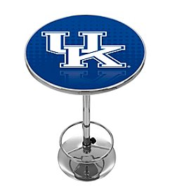 NCAA® University of Kentucky Chrome Pub Table - Reflection