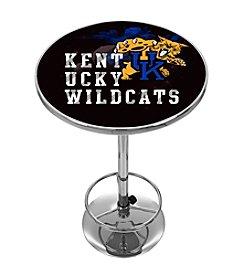 NCAA® University of Kentucky Chrome Pub Table - Smoke