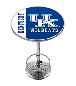NCAA® University of Kentucky Chrome Pub Table - Side Text
