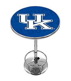 NCAA® University of Kentucky Chrome Pub Table - Wordmark