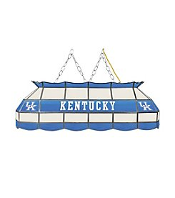 NCAA® University of Kentucky Tiffany Lamp - White Lettering