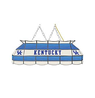 University of Kentucky Blue Lettering Tiffany Lamp