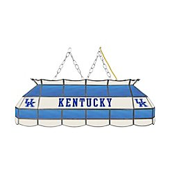 NCAA® University of Kentucky Tiffany Lamp - Blue Lettering