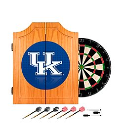 NCAA® University of Kentucky Wood Dart Cabinet Set - Reflection