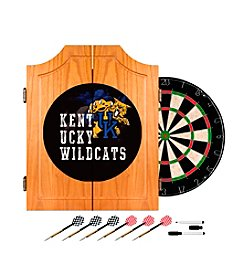 NCAA® University of Kentucky Wood Dart Cabinet Set - Smoke