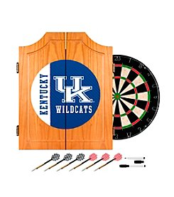 NCAA® University of Kentucky Wood Dart Cabinet Set