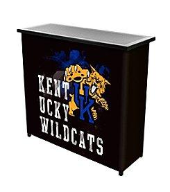 NCAA® University of Kentucky Portable Bar with Case - Smoke