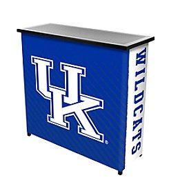 NCAA® University of Kentucky Portable Bar with Case - Side Text