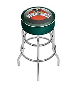 NCAA® University of Miami Bar Stool - Honeycomb