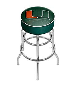 University of Miami Bar Stool - Reflection