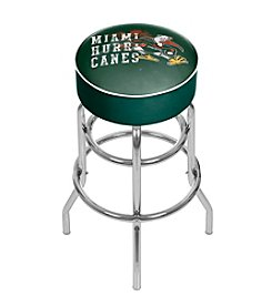 University of Miami Smoke Bar Stool