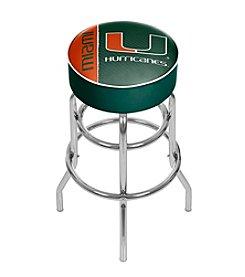 University of Miami Bar Stool
