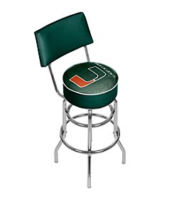 University of Miami Bar Stool - Fade