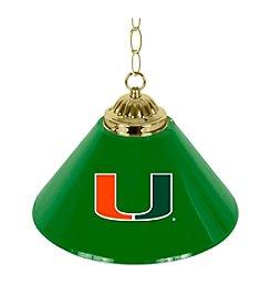 NCAA® University of Miami Single Shade Lamp