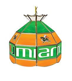NCAA® University of Miami Tiffany Lamp