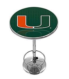 NCAA® University of Miami Pub Table - Reflection