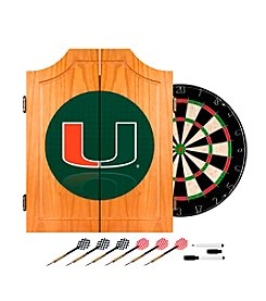 University of Miami Dart Cabinet Set - Reflection
