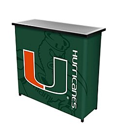 University of Miami Portable Bar - Fade