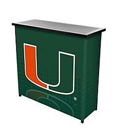 University of Miami Portable Bar - Reflection